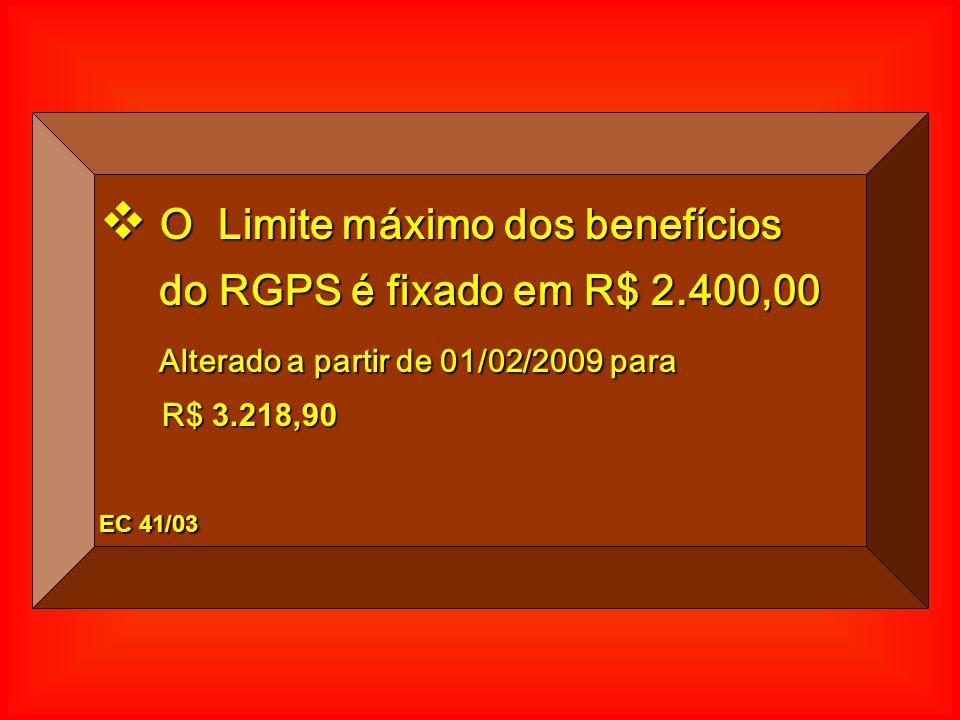 R$ 2.400,00 10 SM R$ 4.650,00 TetoTeto R$ 3.218,90 PERDA DE 43% - 6,9