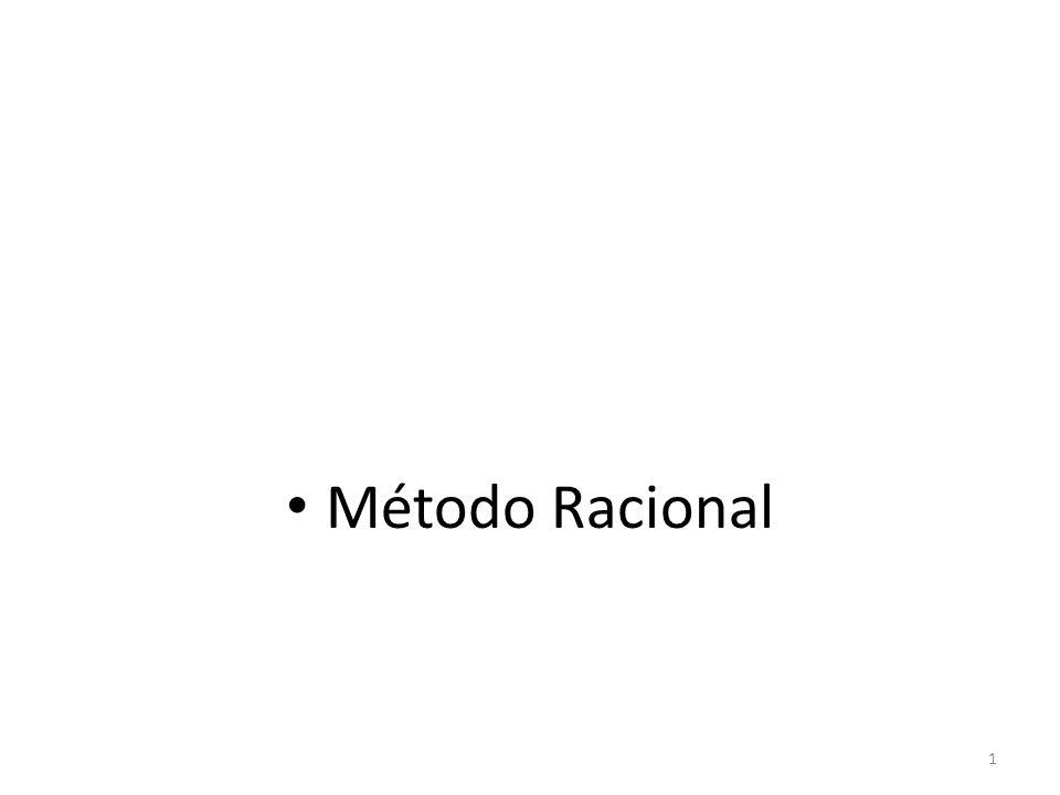• Método Racional 1