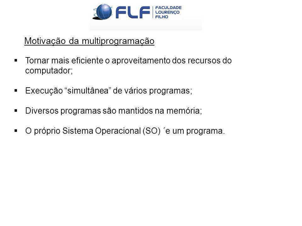 Fortaleza-2012 Multiprogramáveis ou multitarefas  Mais complexos e mais eficientes;  Vários programas dividem os mesmos recursos;  Aumento da produtividade dos seus usuários e a redução de custos;