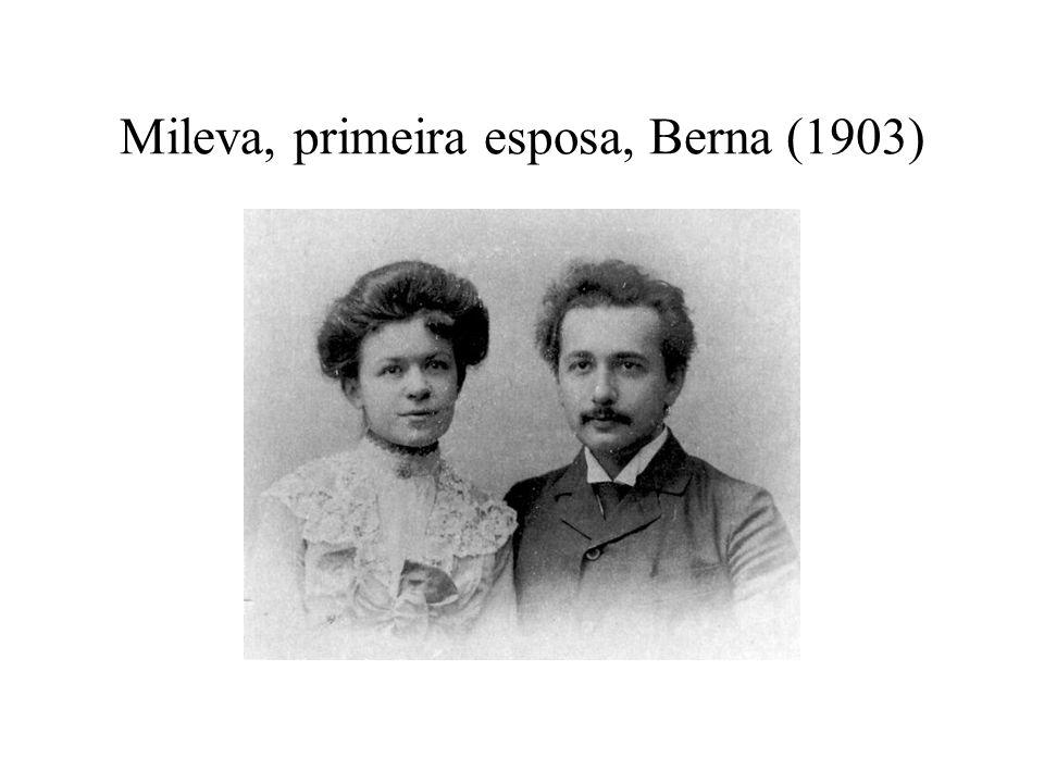 Mileva, primeira esposa, Berna (1903)