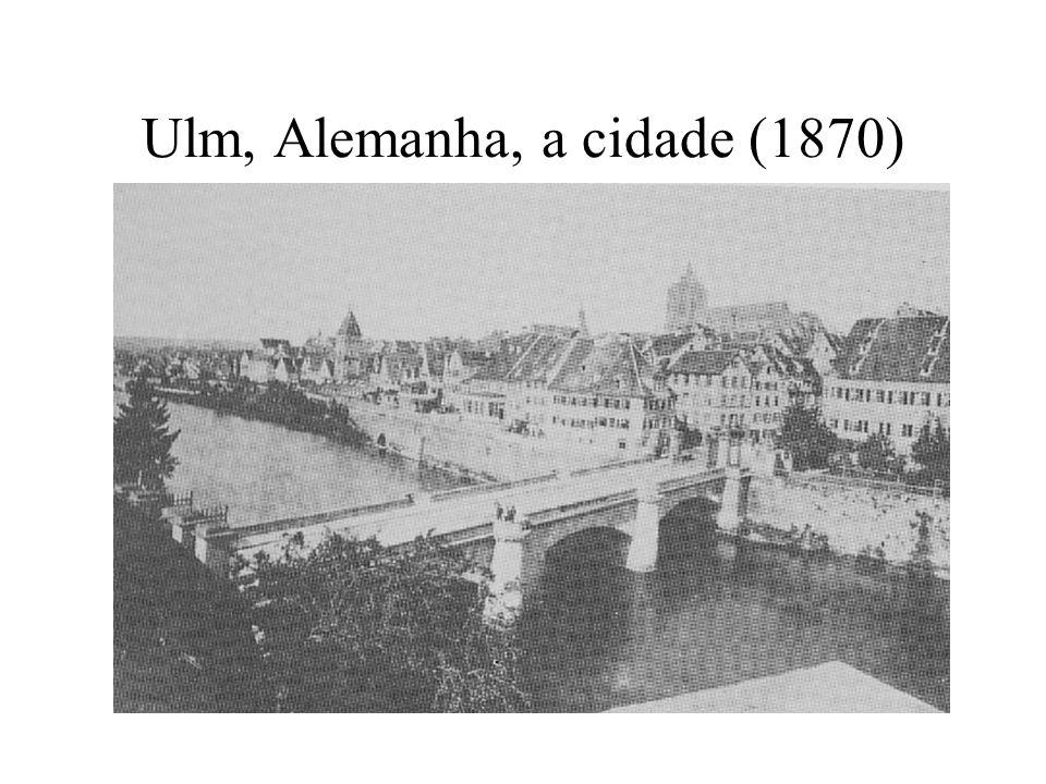 Ulm, Alemanha, a cidade (1870)