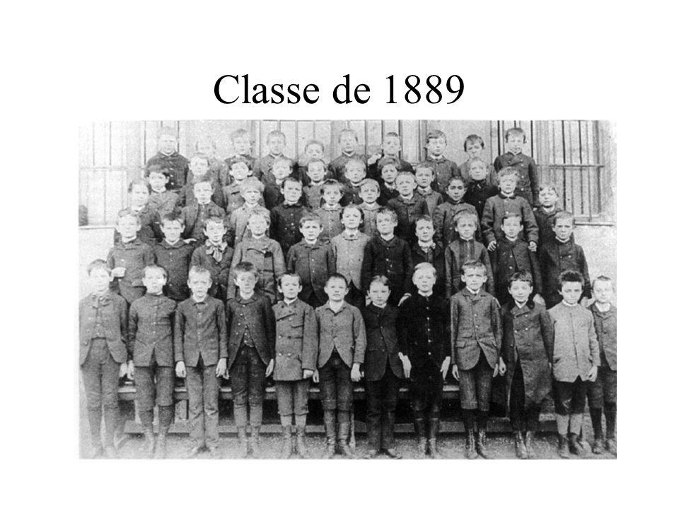 Classe de 1889