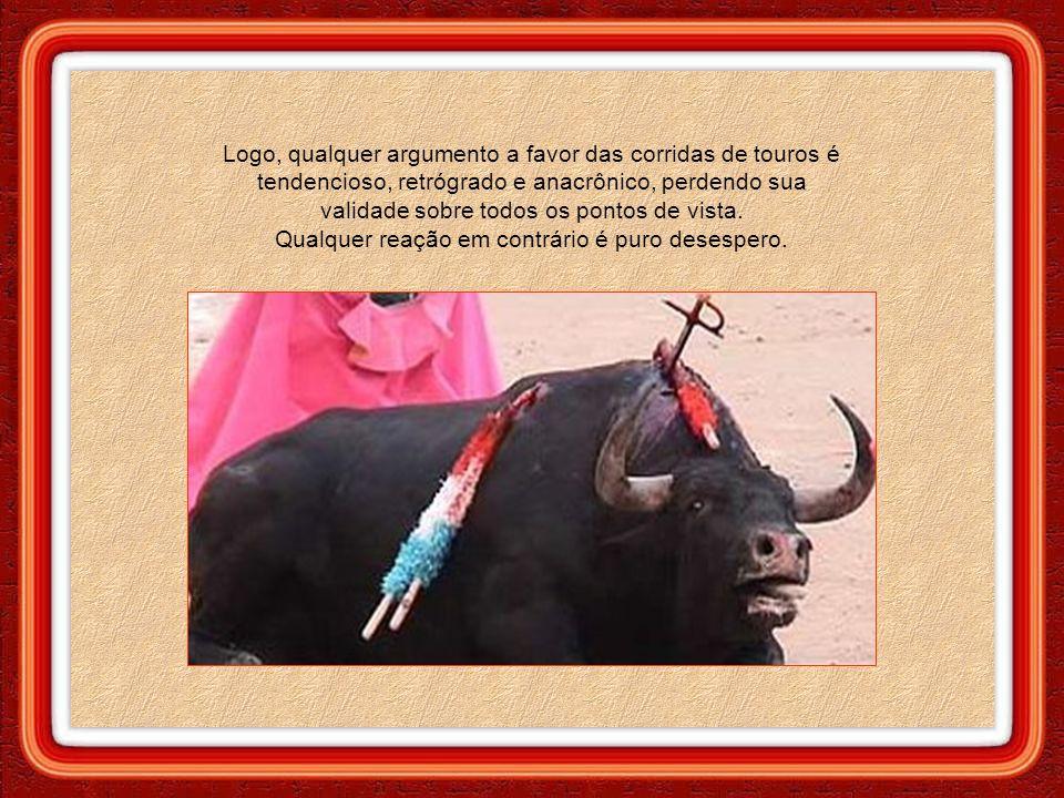 O debate sobre as touradas esbarra em muitos paradoxos.