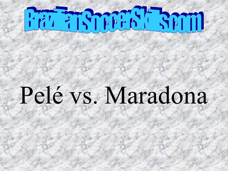 Pelé vs. Maradona