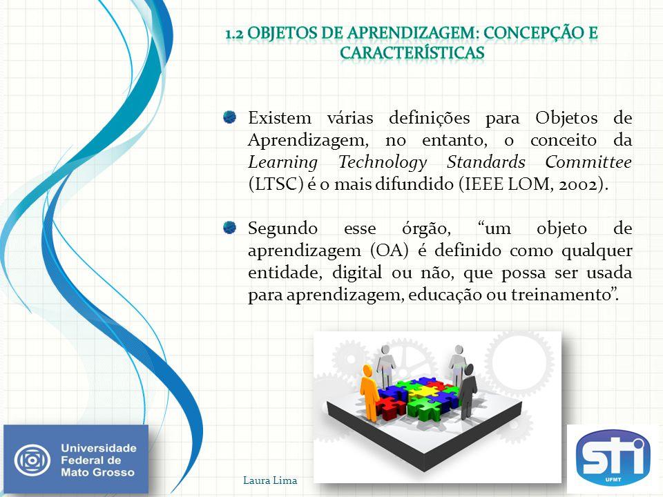 Padrões para Objetos de Aprendizagem Laura Lima