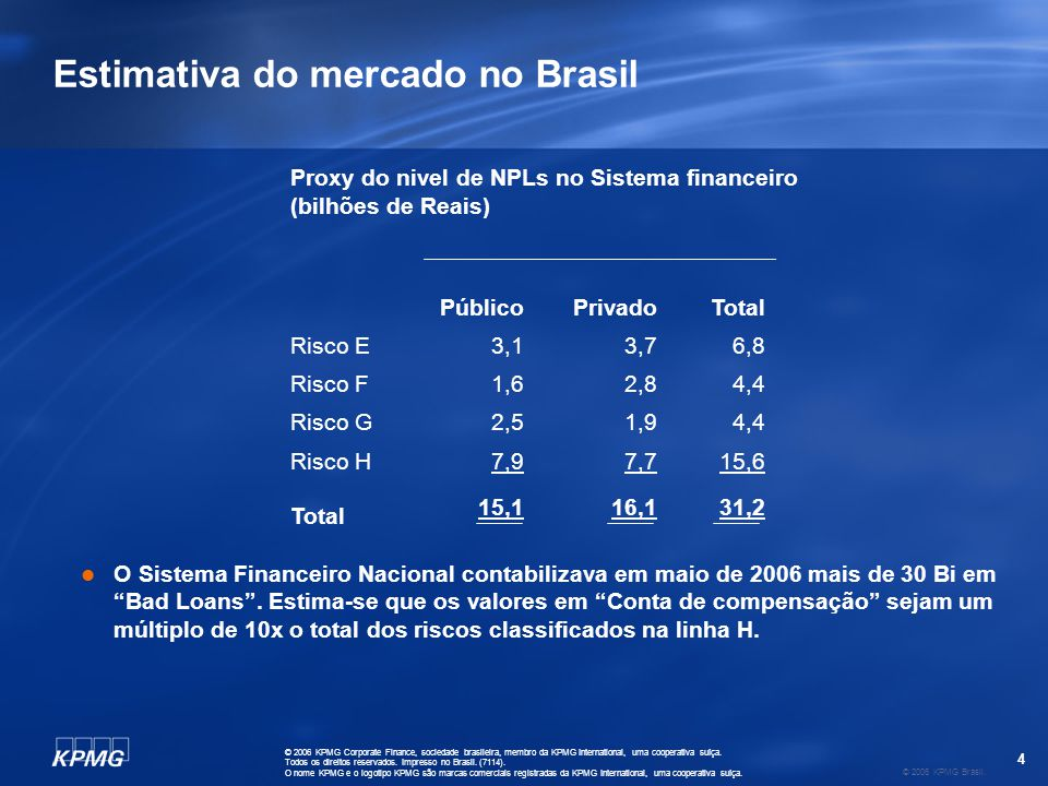5 © 2006 KPMG Brasil.