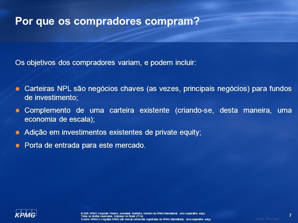 18 © 2006 KPMG Brasil.