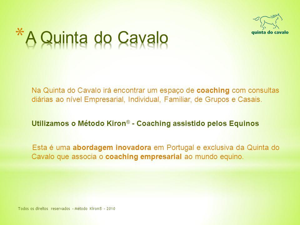 Na Quinta do Cavalo irá encontrar um espaço de coaching com consultas diárias ao nível Empresarial, Individual, Familiar, de Grupos e Casais. Utilizam