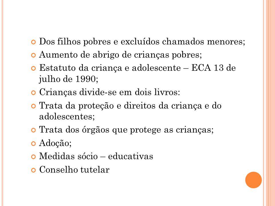 Constituição Brasileira 1988 Convenção sobre os Direitos da Criança.