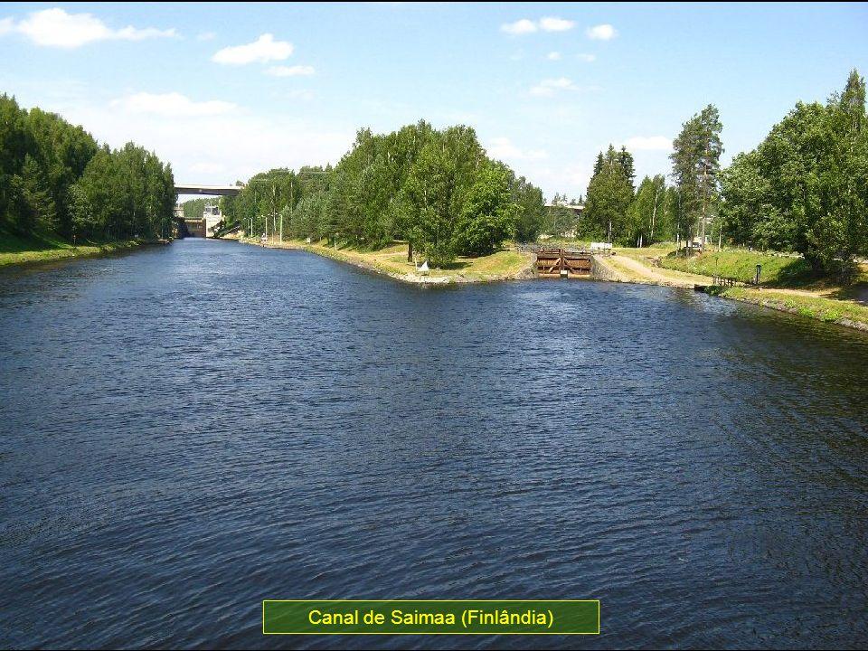 Canal de Saimaa (Finlândia)