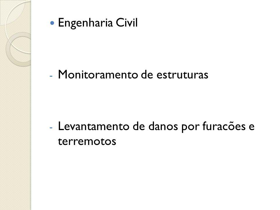  Engenharia Civil - Monitoramento de estruturas - Levantamento de danos por furacões e terremotos