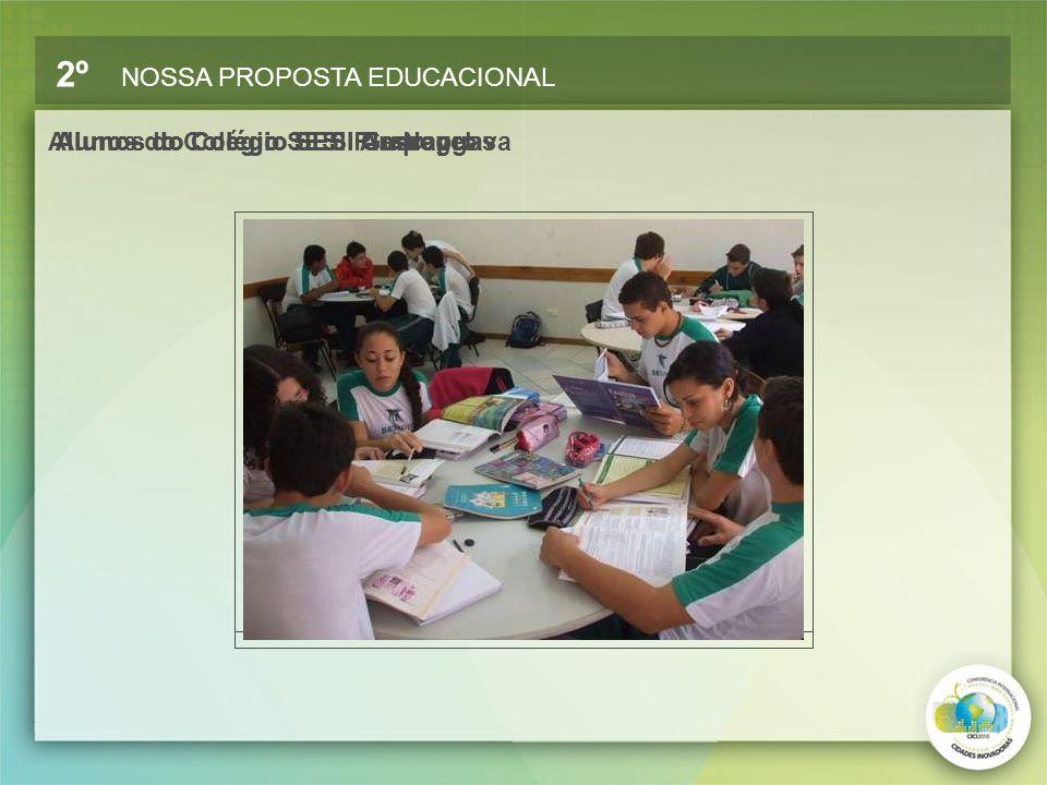 Alunos do Colégio SESI Rio NegroAlunos do Colégio SESI CascavelAlunos do Colégio SESI GuarapuavaAlunos do Colégio SESI Arapongas