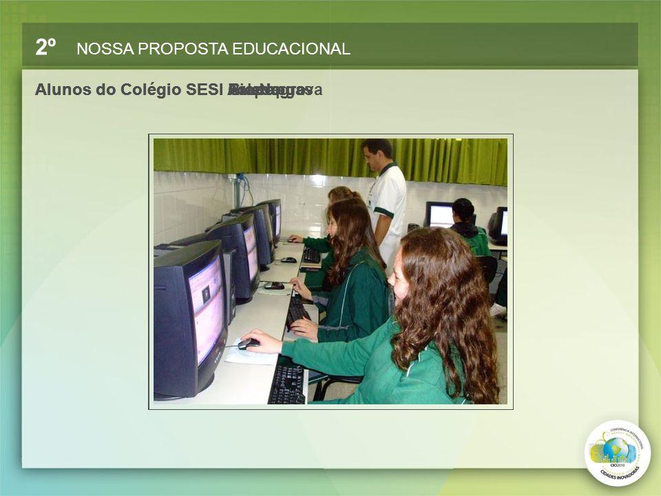 Alunos do Colégio SESI ToledoAlunos do Colégio SESI ArapongasAlunos do Colégio SESI GuarapuavaAlunos do Colégio SESI Rio Negro