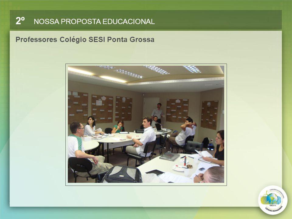 Professores Colégio SESI Ponta Grossa