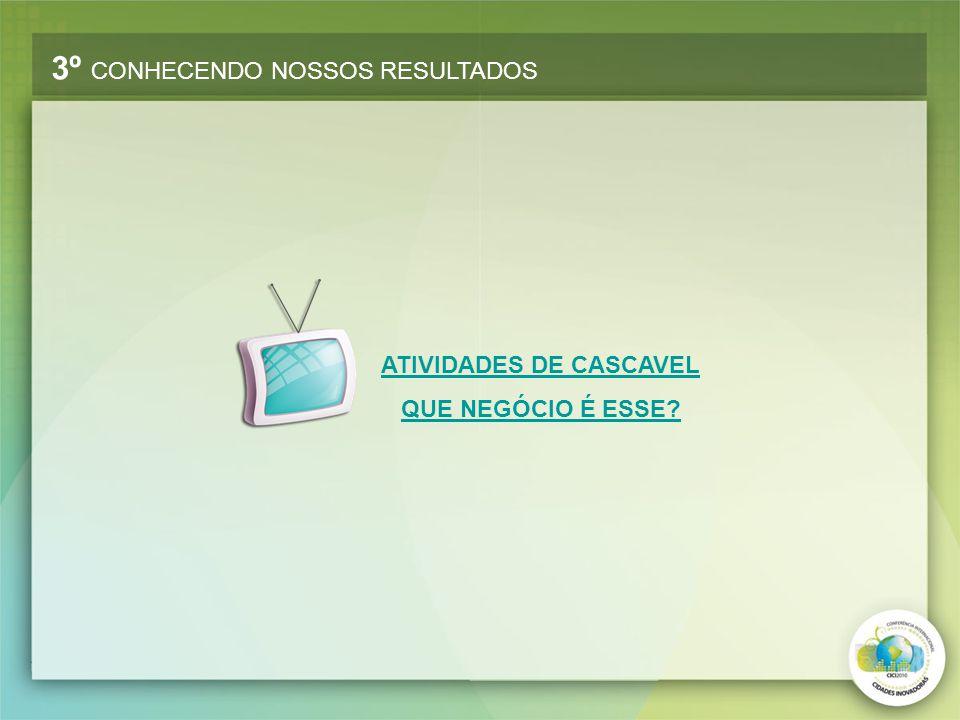 ATIVIDADES DE CASCAVEL QUE NEGÓCIO É ESSE?