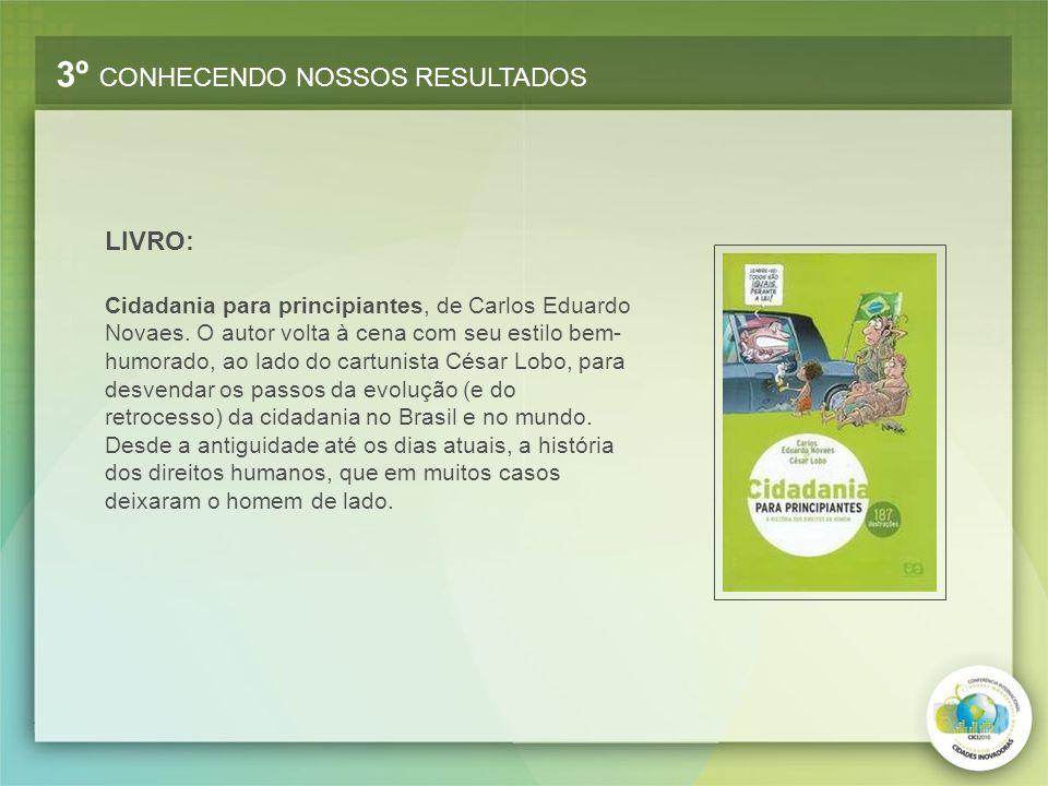 Cidadania para principiantes, de Carlos Eduardo Novaes. O autor volta à cena com seu estilo bem- humorado, ao lado do cartunista César Lobo, para desv
