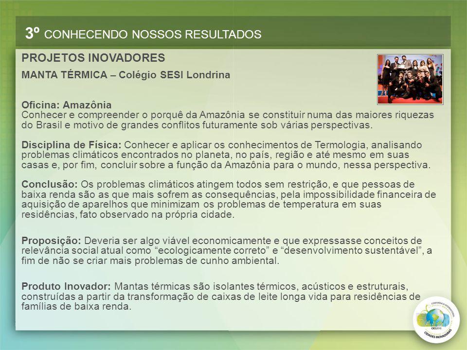Oficina: Amazônia Conhecer e compreender o porquê da Amazônia se constituir numa das maiores riquezas do Brasil e motivo de grandes conflitos futurame
