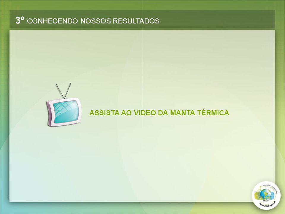 ASSISTA AO VIDEO DA MANTA TÉRMICA 3º CONHECENDO NOSSOS RESULTADOS