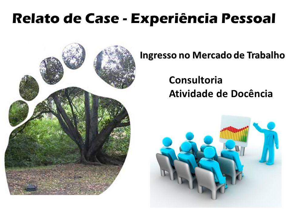 Relato de Case - Experiência Pessoal Ingresso no Mercado de Trabalho Consultoria Atividade de Docência