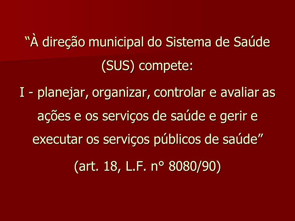 decreto: efeitos positivos VISA (cinco áreas) equidade (critérios crono + U&E) articulação interfederativa (CIT, CIB, CIR) pertencem ao SUS e não mais ao MS