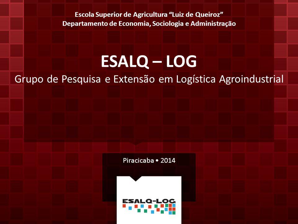 """Escola Superior de Agricultura """"Luiz de Queiroz"""" Departamento de Economia, Sociologia e Administração ESALQ – LOG Grupo de Pesquisa e Extensão em Logí"""
