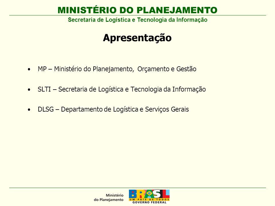 MINISTÉRIO DO PLANEJAMENTO EMPENHOS