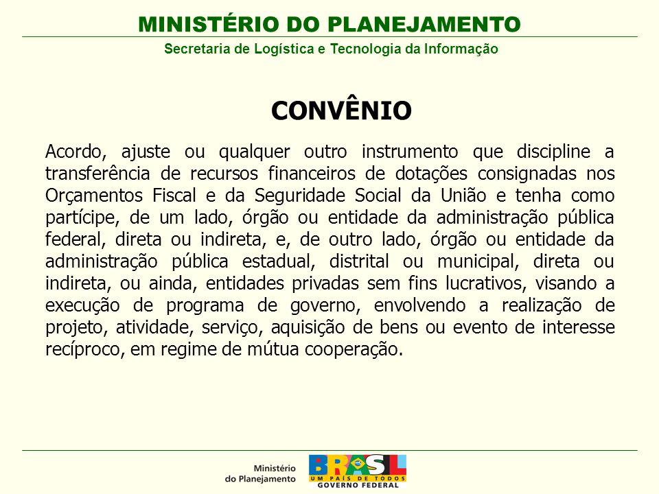 MINISTÉRIO DO PLANEJAMENTO REGISTRO DE DOCUMENTO DE LIQUIDAÇÃO