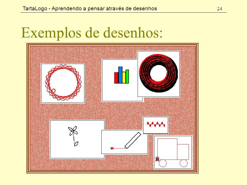 TartaLogo - Aprendendo a pensar através de desenhos 24 Exemplos de desenhos:
