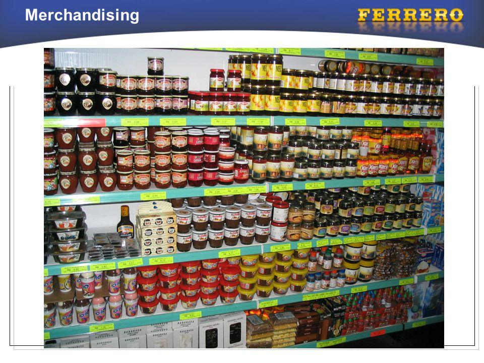 Responsabilidades do Supervisor de Merchandising e do Promotor •Implementar todo o material no maior número de lojas possíveis.