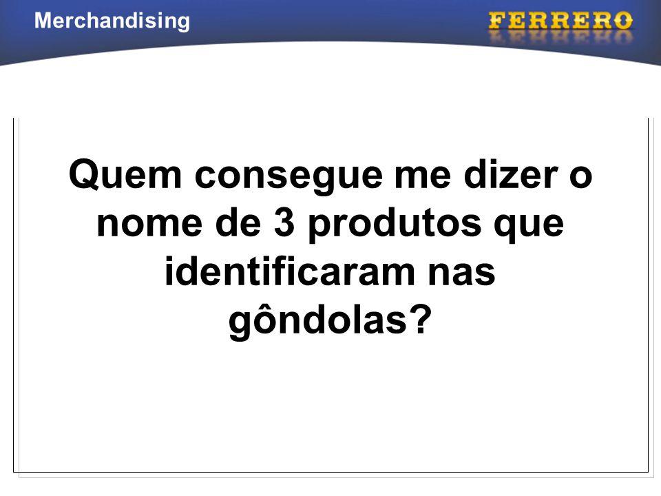 Merchandising Regras Gerais