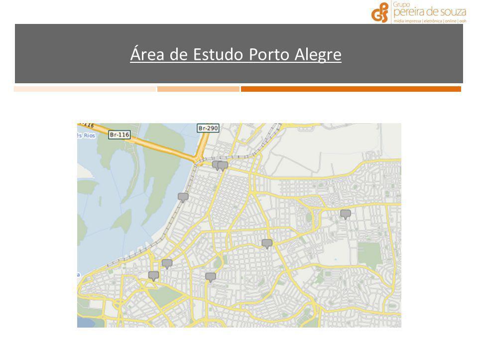 Área de Estudo Porto Alegre