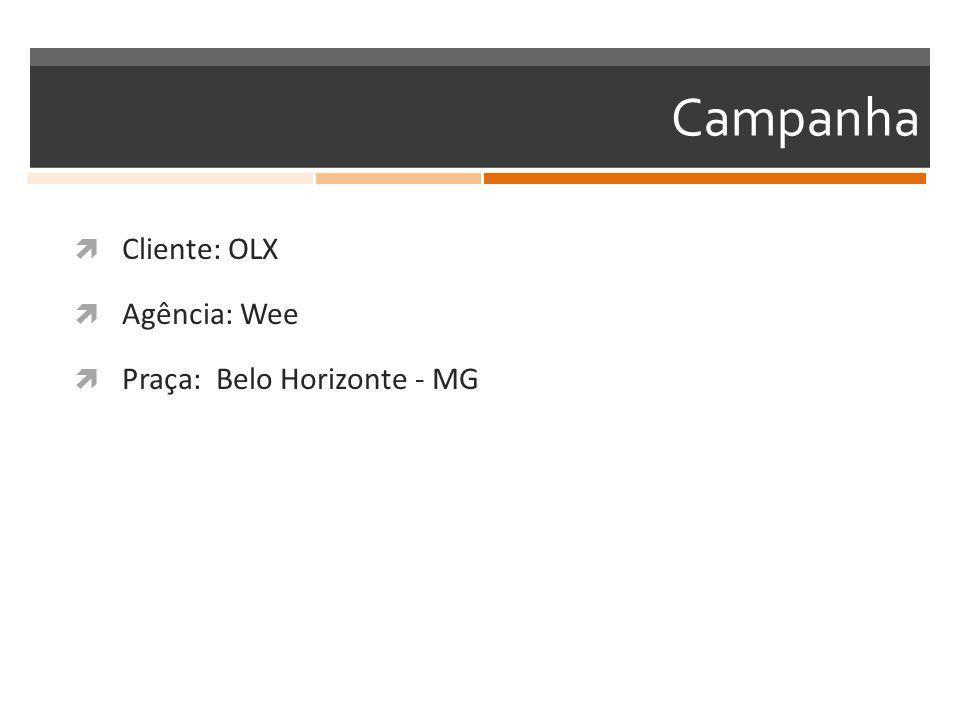 Campanha  Cliente: OLX  Agência: Wee  Praça: Belo Horizonte - MG