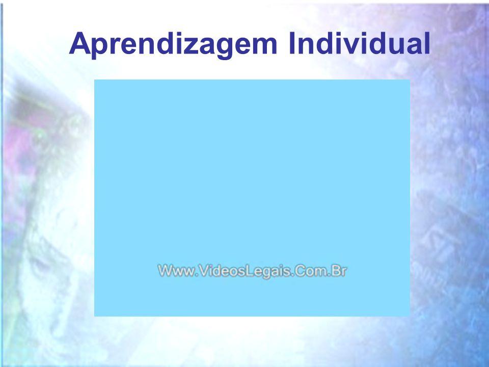 OPERACIONAL Aprendizagem Individual CONCEITUAL EXPERIENCIAL