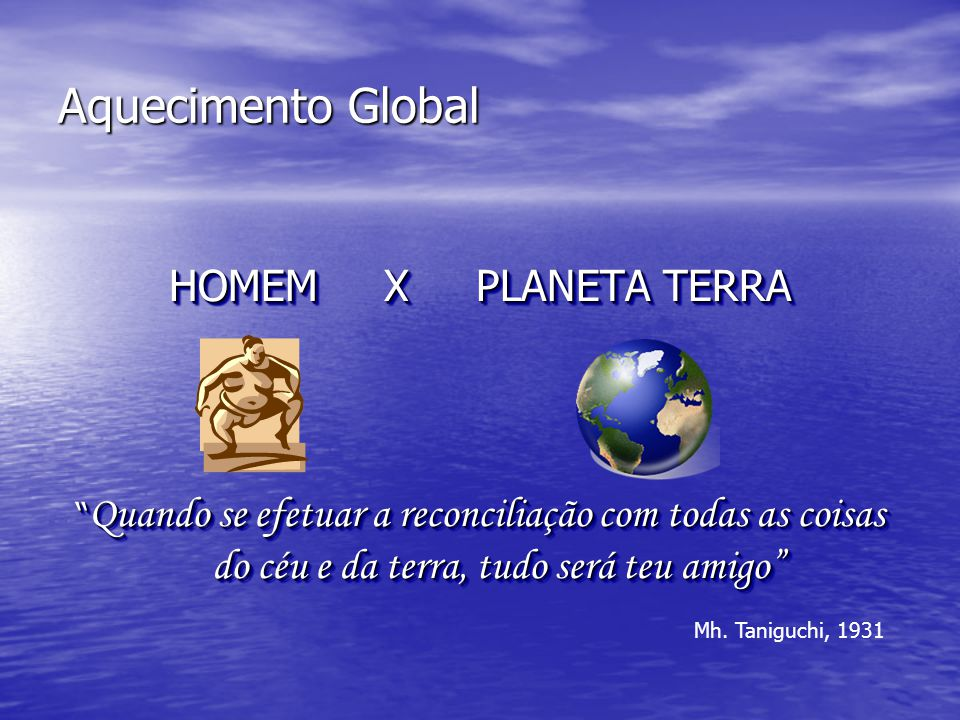 O que é o Aquecimento Global.
