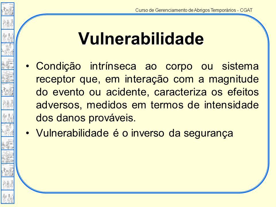 Curso de Gerenciamento de Abrigos Temporários - CGAT