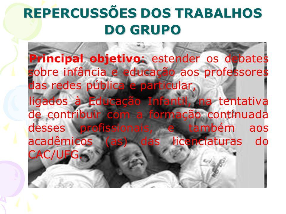 LINHAS DE PESQUISA 1.CORPO, ARTE E O BRINCAR.2. INFÂNCIA, VIOLÊNCIA E PODER.