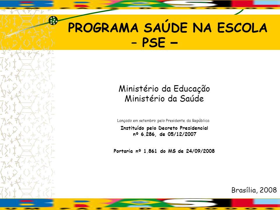 PROGRAMA MAIS EDUCAÇÃO 1.Ampliação dos tempos e espaços educativos 2.
