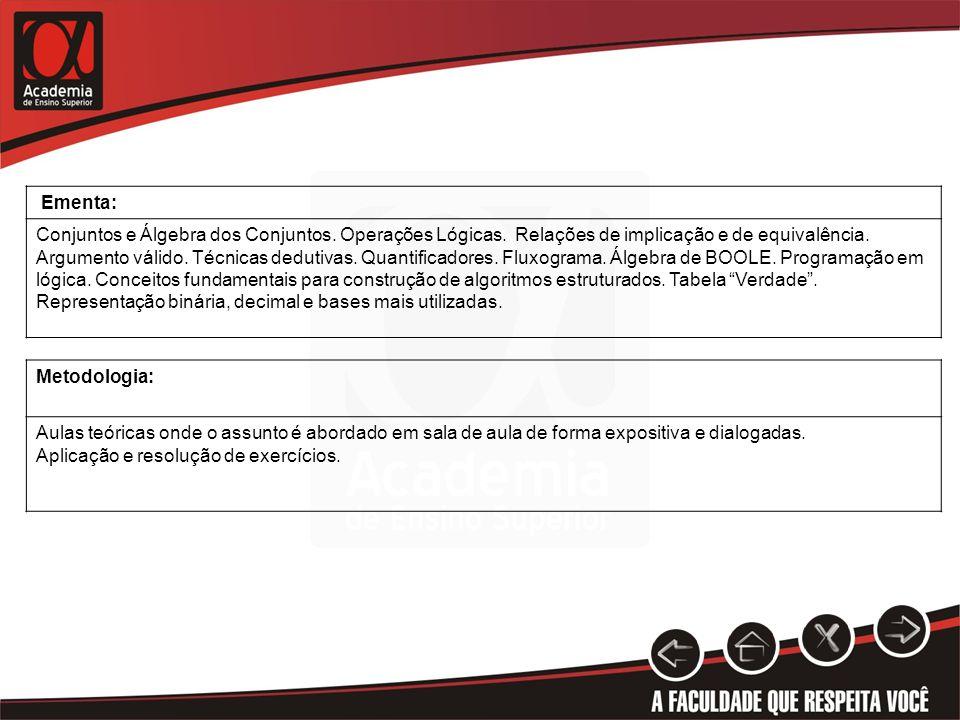 CONTRATO DIDÁTICO-PEDAGÓGICO: SemanaAulasProgramação 1 4Apresentação da disciplina - Conteúdo programado, bibliografia, metodologia de ensino, critério de avaliação.