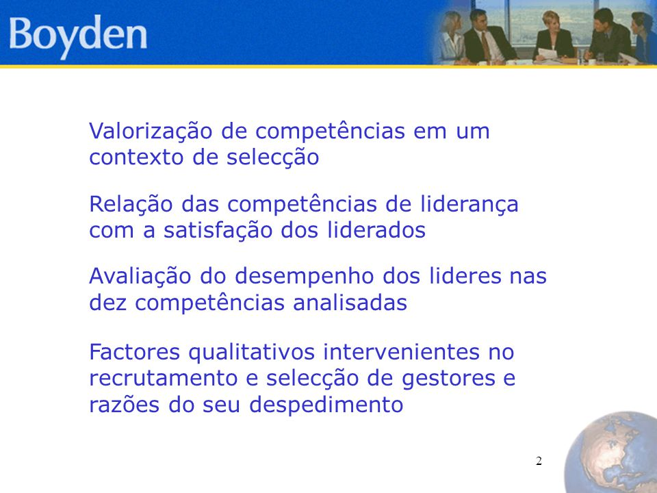 3 Parte I Valorização de Competências num contexto de selecção – um estudo quantitativo-