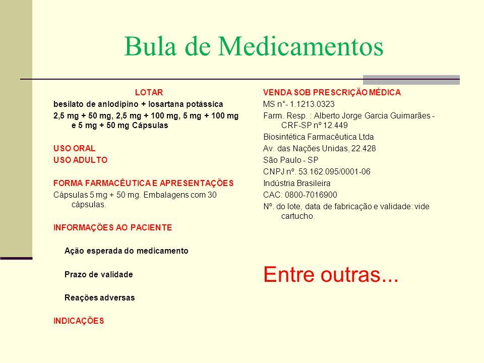 Bula de Medicamentos VENDA SOB PRESCRIÇÃO MÉDICA MS n°- 1.1213.0323 Farm. Resp. : Alberto Jorge Garcia Guimarães - CRF-SP nº 12.449 Biosintética Farma