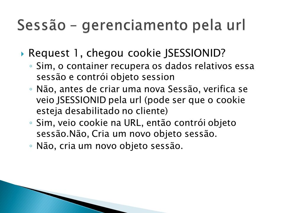  Request 1, chegou cookie JSESSIONID.