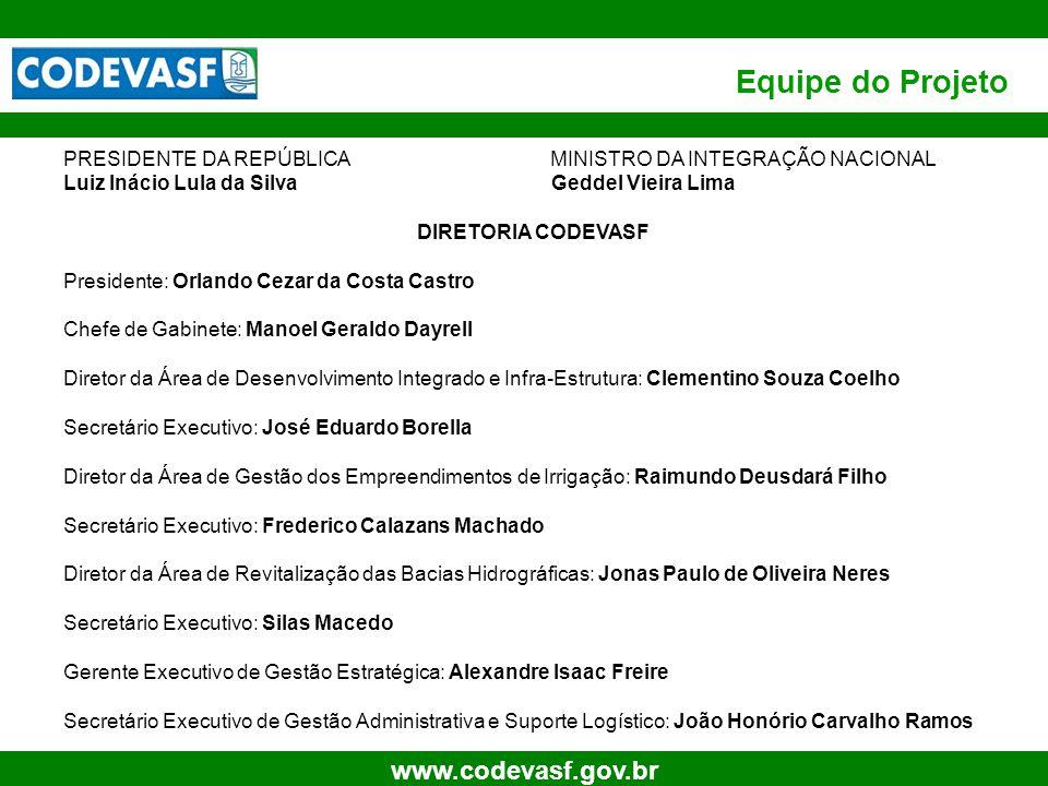 33 www.codevasf.gov.br Projeto Salitre