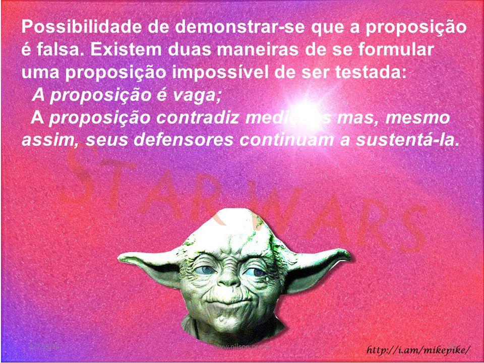 O que é uma teoria científica 2/7/201419www.nilson.pro.br
