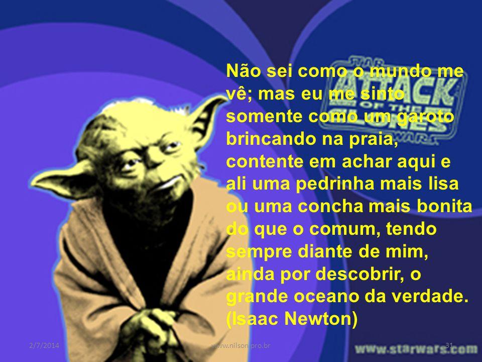 Ciência ou Tecnologia 2/7/201430www.nilson.pro.br