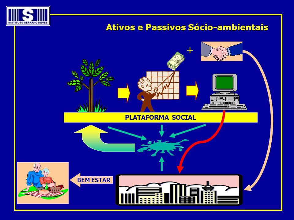 PLATAFORMA SOCIAL + BEM ESTAR Ativos e Passivos Sócio-ambientais