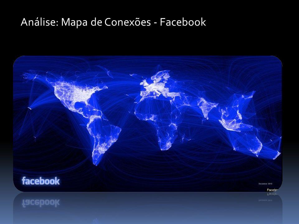 Análise: Mapa de Conexões - Facebook
