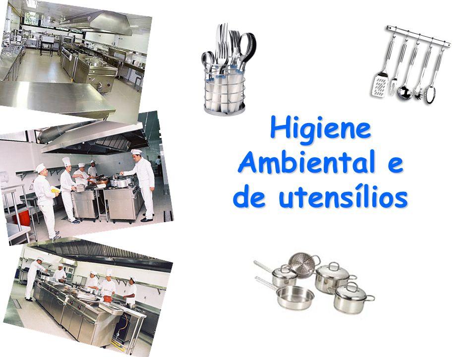 Higiene Ambiental e de utensílios