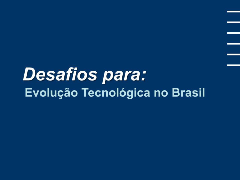 No Brasil, Indústria e Academia devem se aproximar Fonte: Revista Veja (http://veja.abril.com.br/191207/p_144.shtml) 5 5 Engenheiros por 100 mil habitantes Engenheiros formados em 2006 Engenheiros X Universitários formados em 2006 China25400 mil38% Coréia2580 mil30% Índia22300 mil21% Brasil630 mil10%