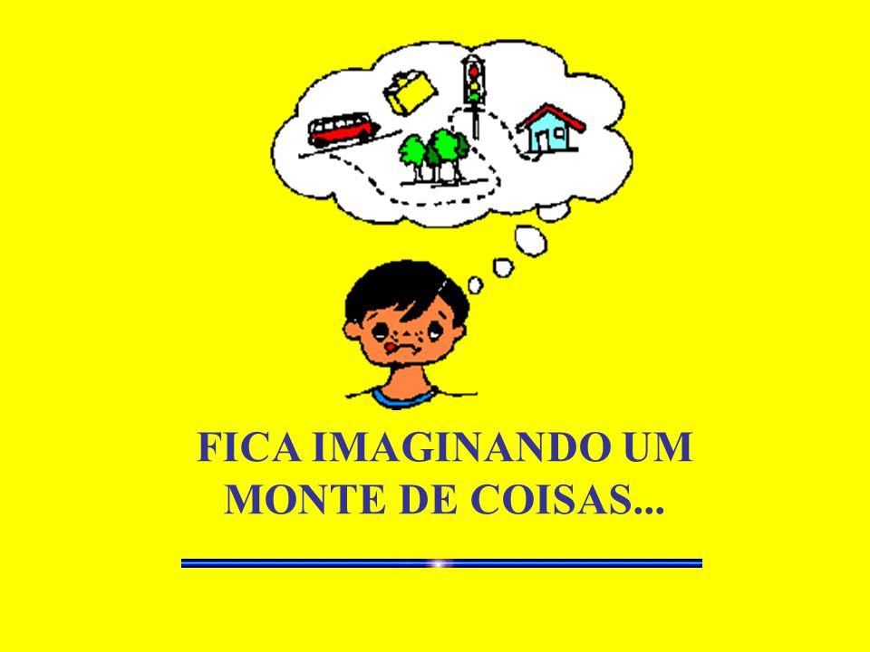 FICA IMAGINANDO UM MONTE DE COISAS...