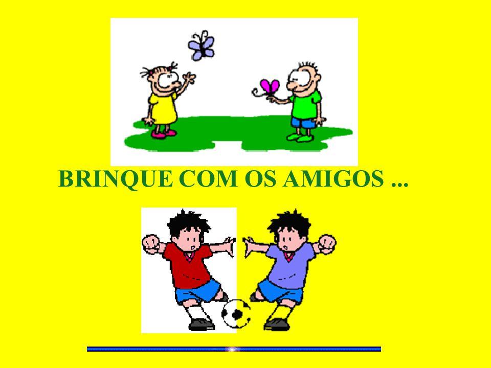 BRINQUE COM OS AMIGOS...